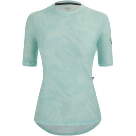 Santini Delta Gravel Tech T-Shirt Women, Turquesa